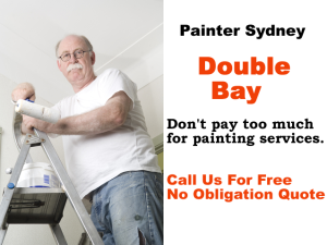 Painter in Double Bay