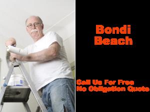 Painter in Bondi Beach