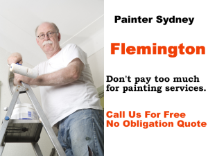 Painter in Flemington