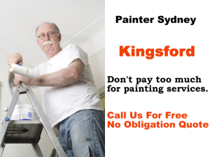 Painter in Kingsford