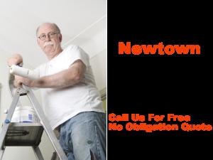 Painter in Newtown