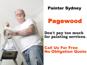 Painter in Pagewood