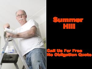 Painter in Summer Hill