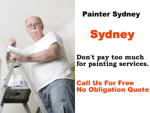 Painter Sydney CBD