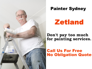 Painter in Zetland