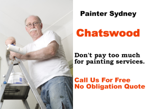 Painter in Chatswood