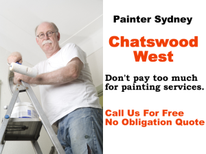 Painter in Chatswood West