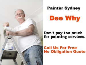 Painter in Dee Why