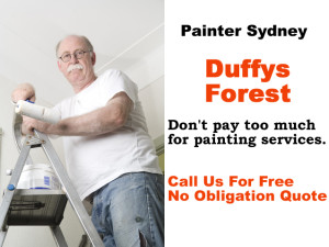 Painter in Duffys Forest