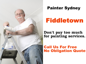 Painter in Fiddletown