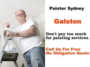 Painter in Galston