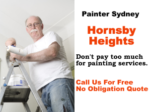 Painter in Hornsby Heights