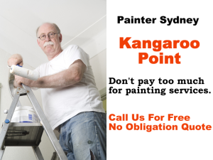Painter in Kangaroo Point