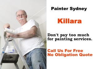 Painter in Killara
