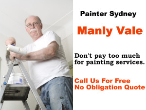 Painter in Manly Vale