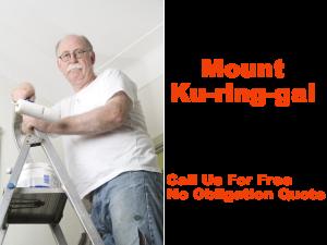 Painter in Mount Ku Ring Gai