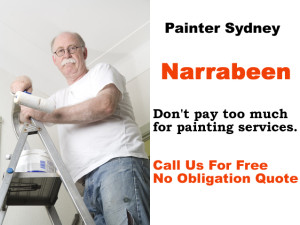 Painter in Narrabeen