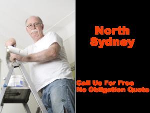 Painter in North Sydney