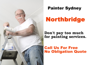 Painter in Northbridge