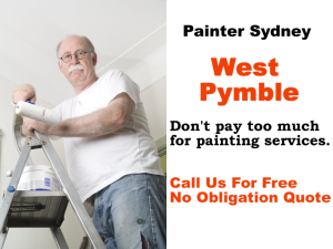 Painter in West Pymble