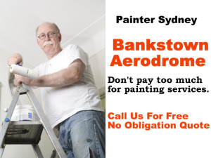 Painter in  Bankstown Aerodrome