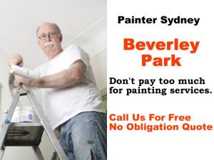 Painter in Beverley Park