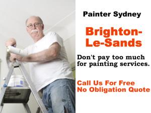 Painter in Brighton-Le-Sands