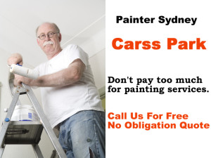 Painter in Carss Park