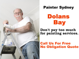Painter in Dolans Bay