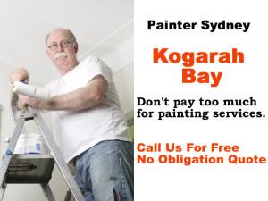 Painter in Kogarah Bay
