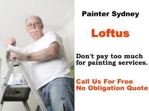 Painter in Loftus