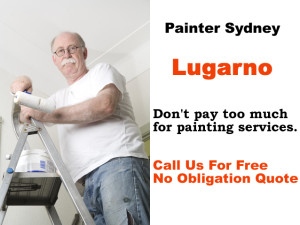 Painter in Lugarno