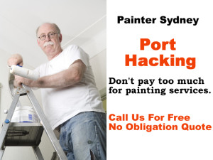Painter in Port Hacking