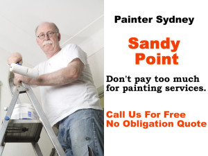 Painter in Sandy Point