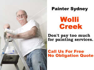 Painter in Wolli Creek