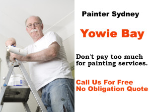 Painter in Yowie Bay