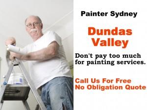 Painter in Dundas Valley