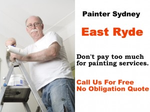 Painter in East Ryde