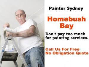 Painter in Homebush Bay