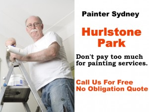 Painter in Hurlstone Park