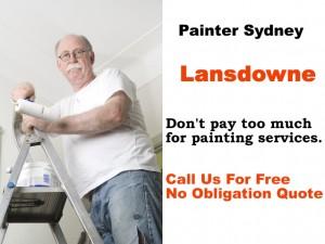 Painter in Lansdowne