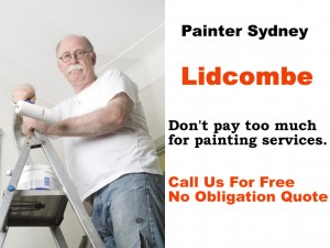 Painter in Lidcombe